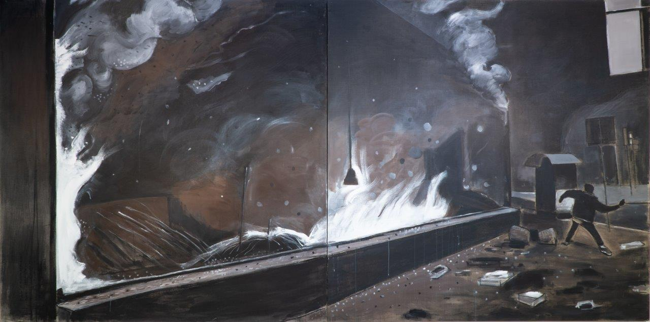 Sombra y fuego (Díptico) (2013) - Rafael Alvarado
