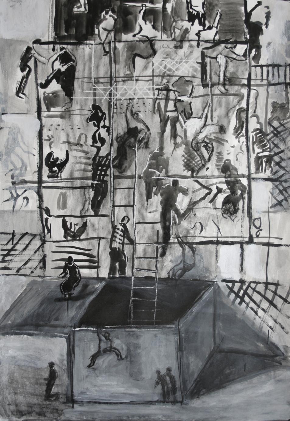 El asalto I (2014) - Rafael Alvarado