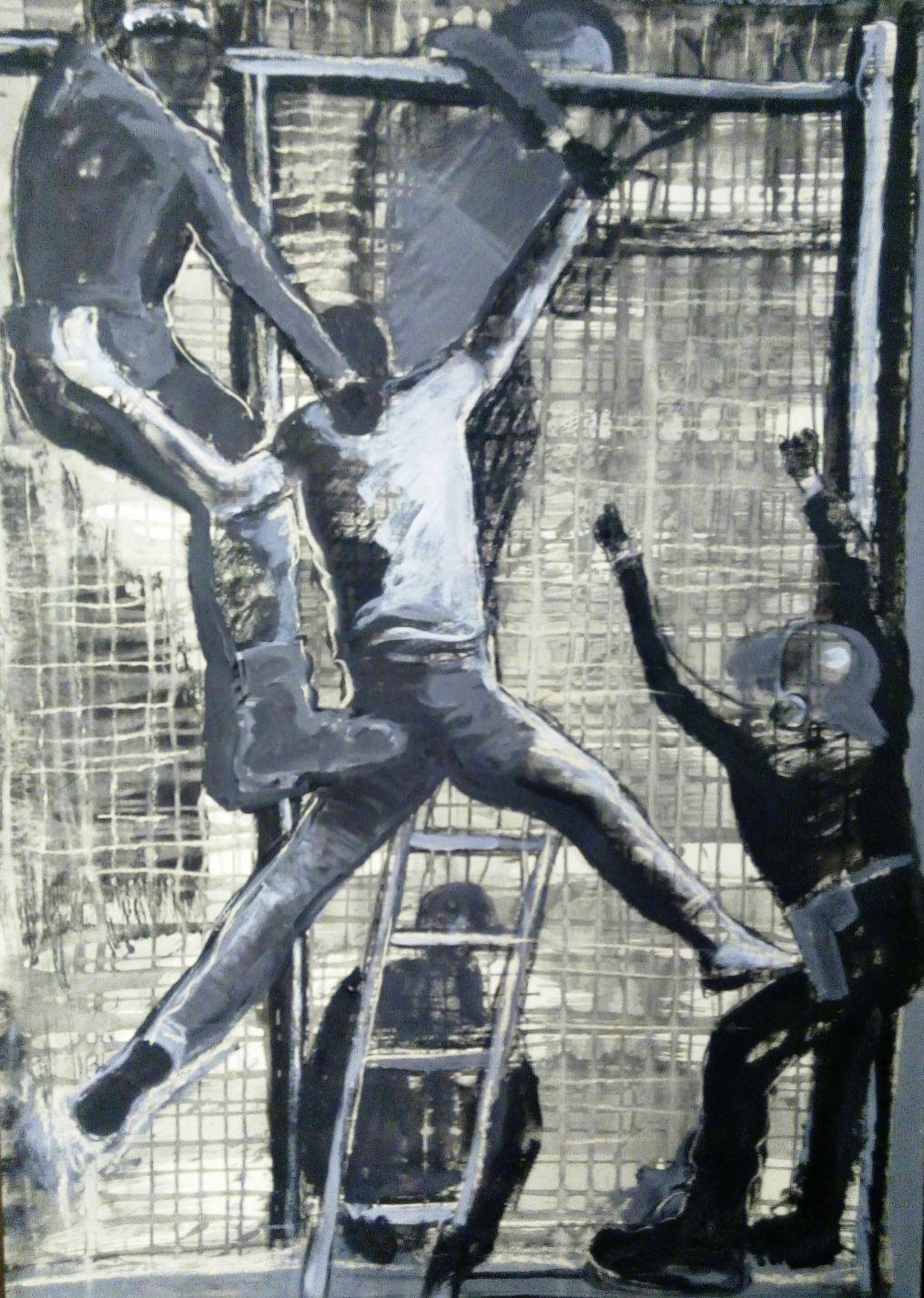 Crucifixión I (2016) - Rafael Alvarado