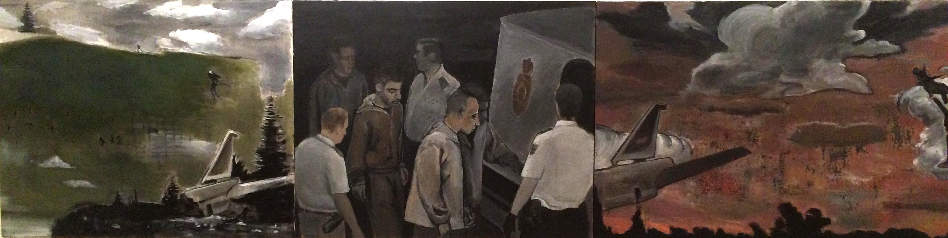 Desanudarse el cielo (Díptico) (2013) - Rafael Alvarado