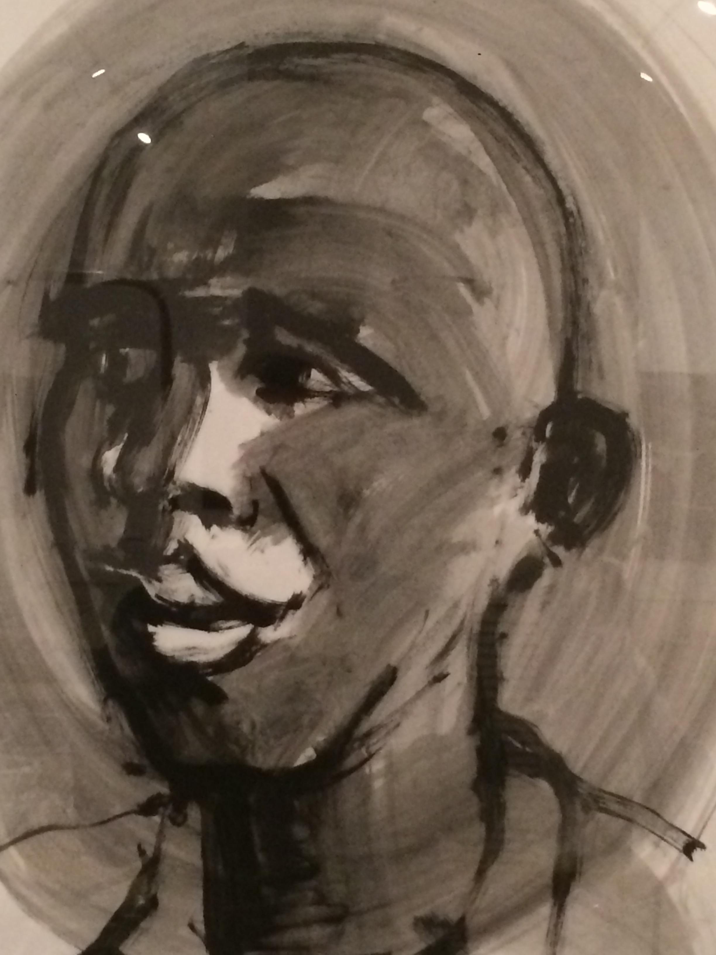 Joven africano III (2006) - Rafael Alvarado