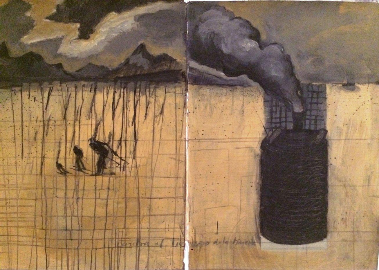 La muerte cae del cielo (2014) - Rafael Alvarado