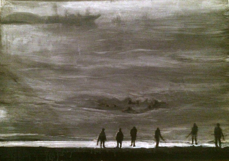 Camino de madrugada (2015) - Rafael Alvarado