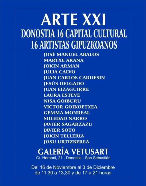 16 ARTISTAS GIPUZKOANOS-DONOSTIA 16