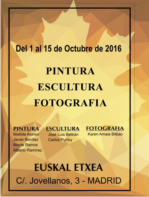 PINTURA-ESCULTURA-FOTOGRAFIA