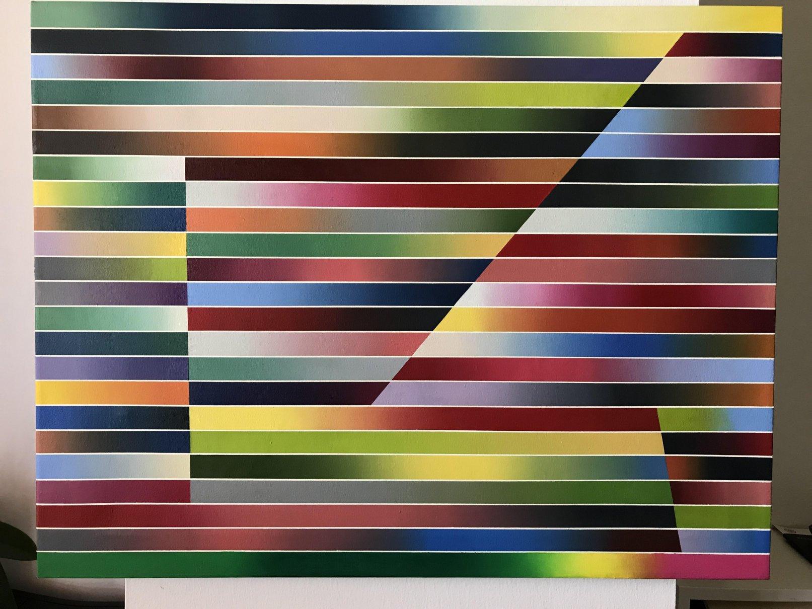 3 dianales (diagonales) (2016) - Fabián Burgos