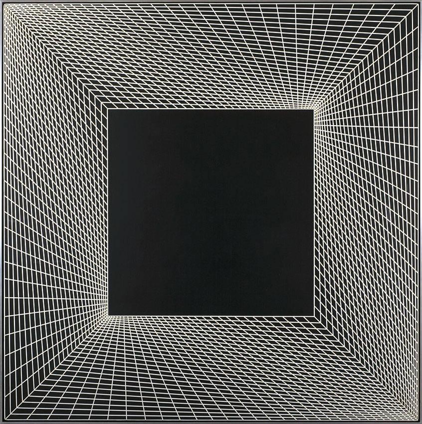 Inflexion (1967) - Richard Anuszkiewicz