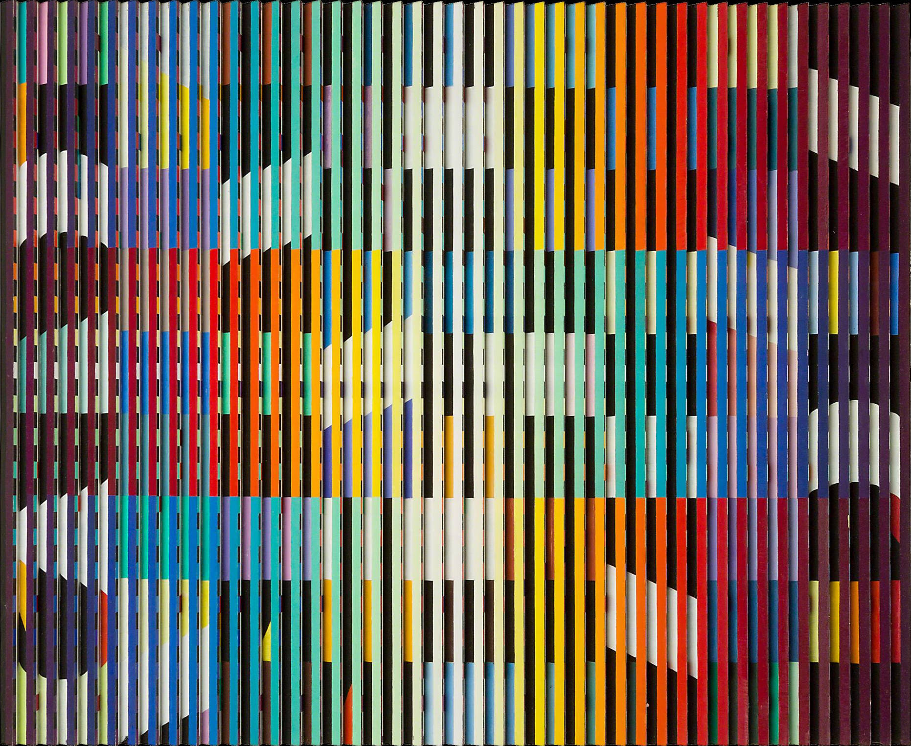 From Birth to Eternity (© 2017 ADAGP, París / SAVA, Buenos Aires) (1969) - Yaacov Agam