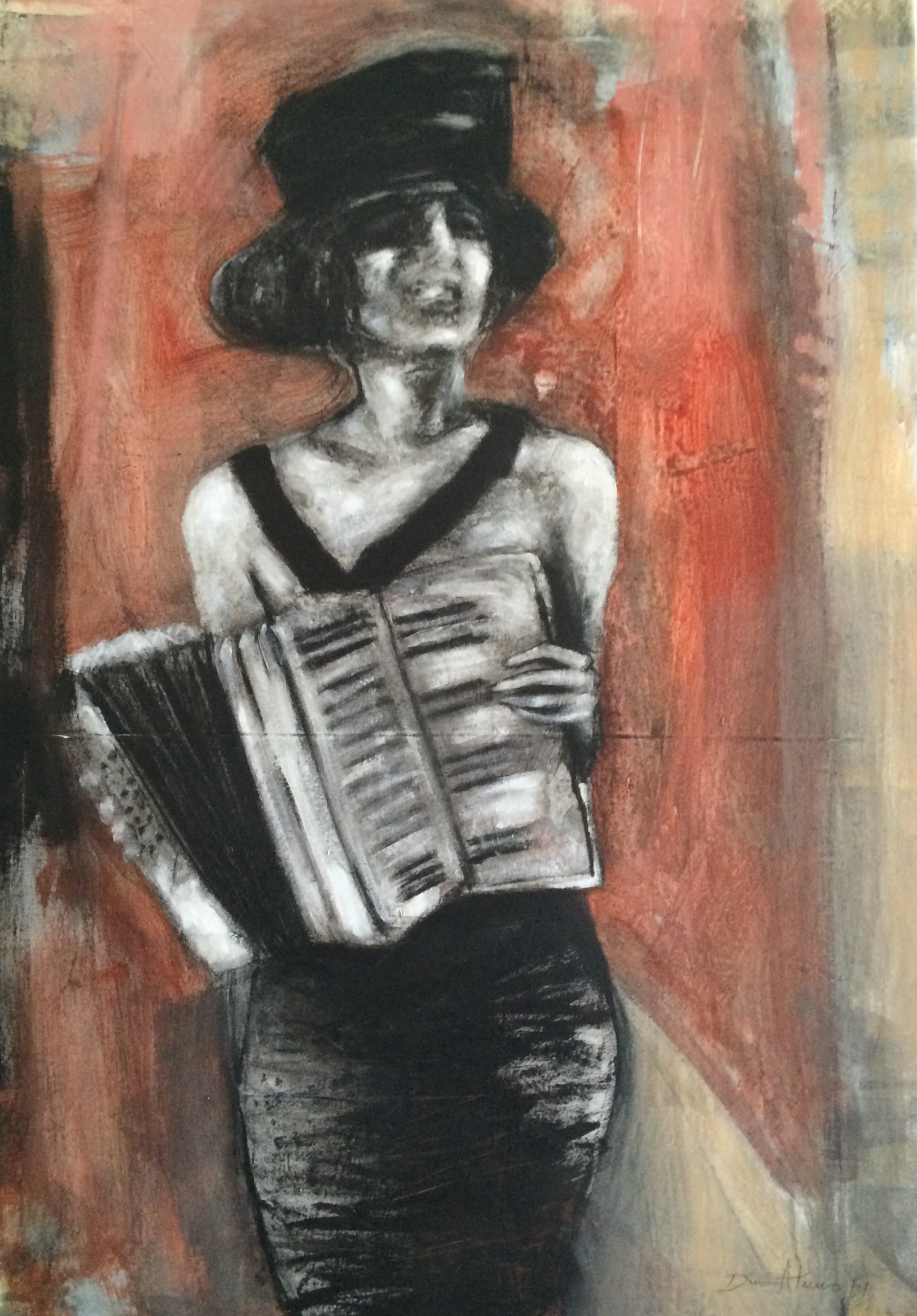 CHICA CON ACORDEÓN (2014) - Dina Atencio