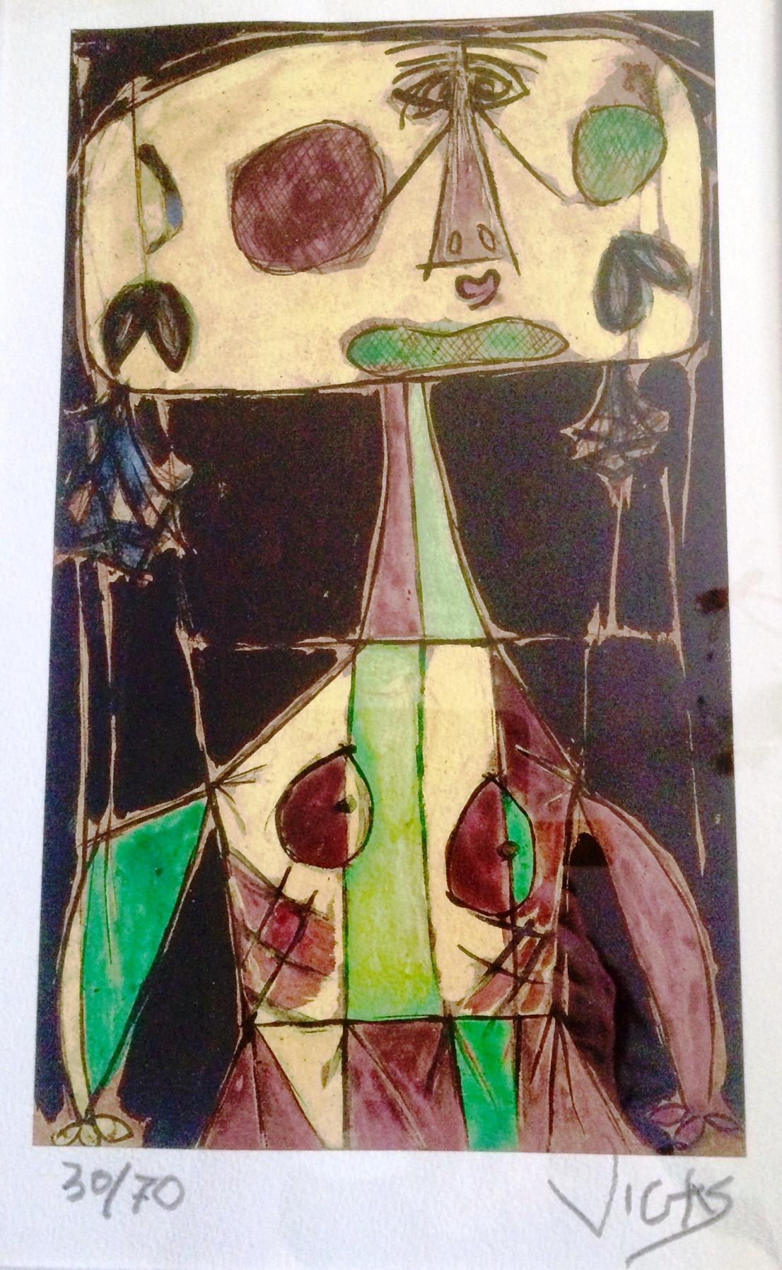 Bruja infante (Estudio) (2009) - Oswaldo Vigas