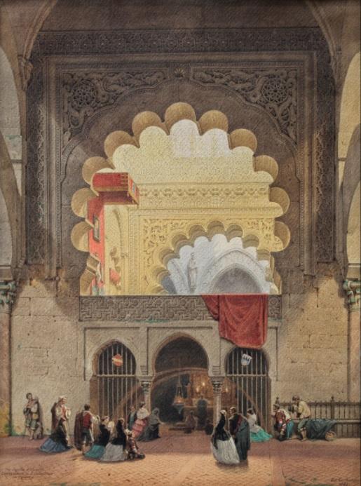 Die Capella d Familie Villaviciosa i. d. Cathedrale (1858) - Eduard Gerhardt