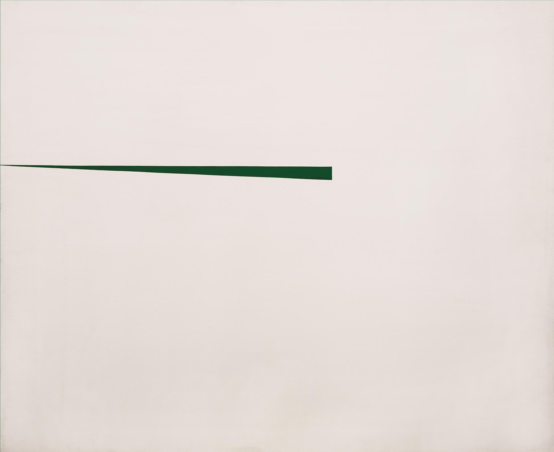 Blanco y Verde (1967) - Carmen Herrera