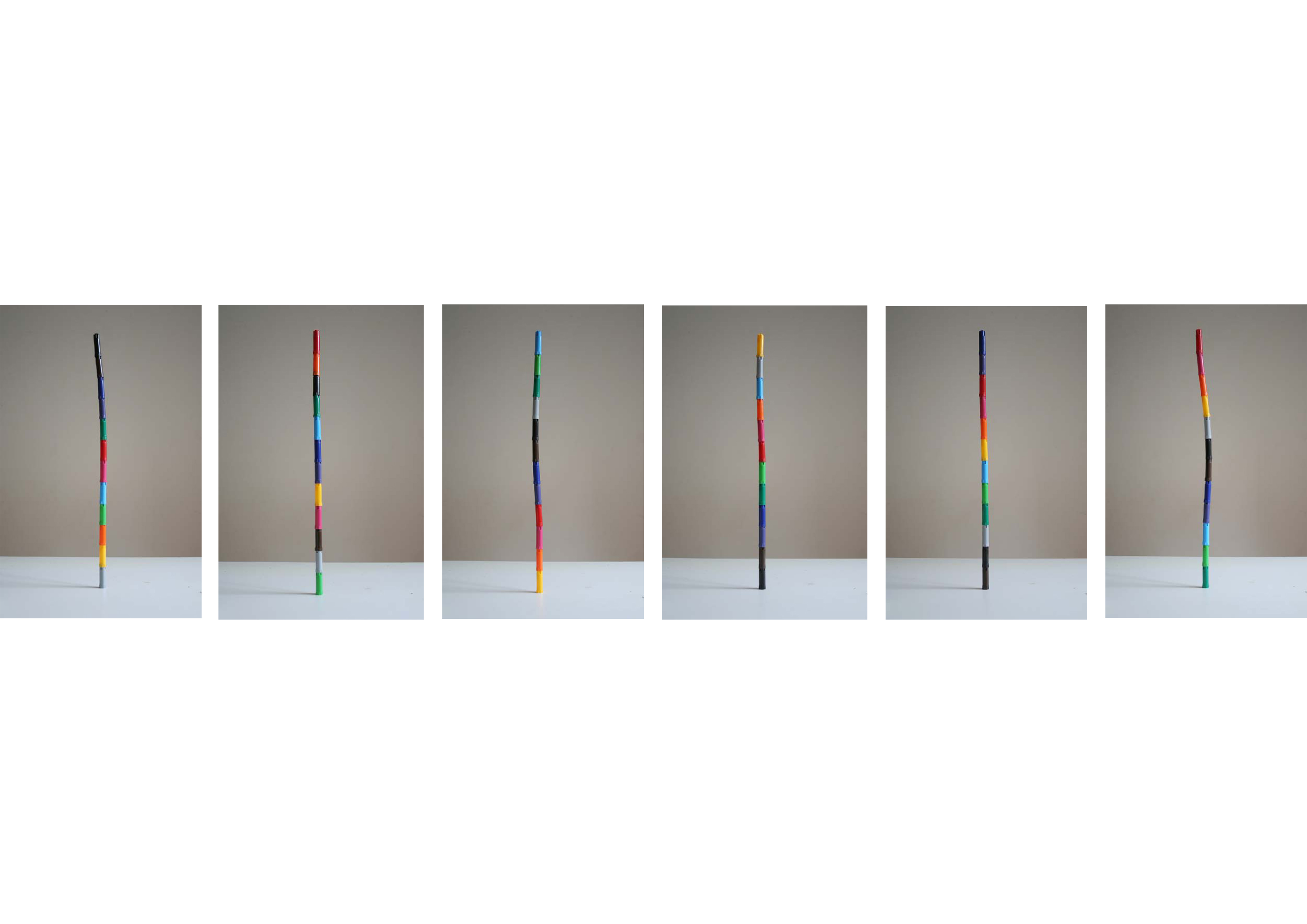 Esculturas cromáticas (2012) - Carlos Nunes