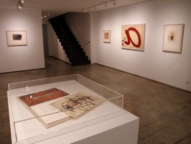 Antoni Tàpies, 'Darrers gravats'