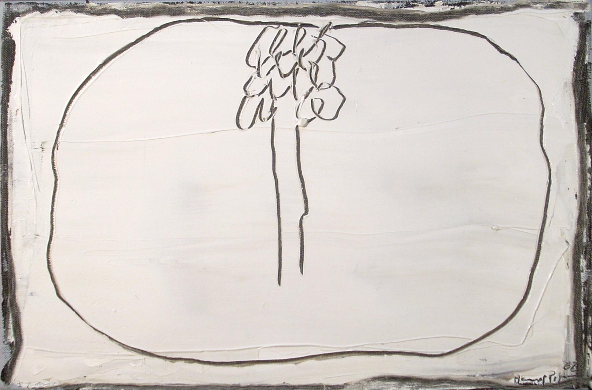 Petit blanc y arbre (2002) - Joan Hernández Pijuan