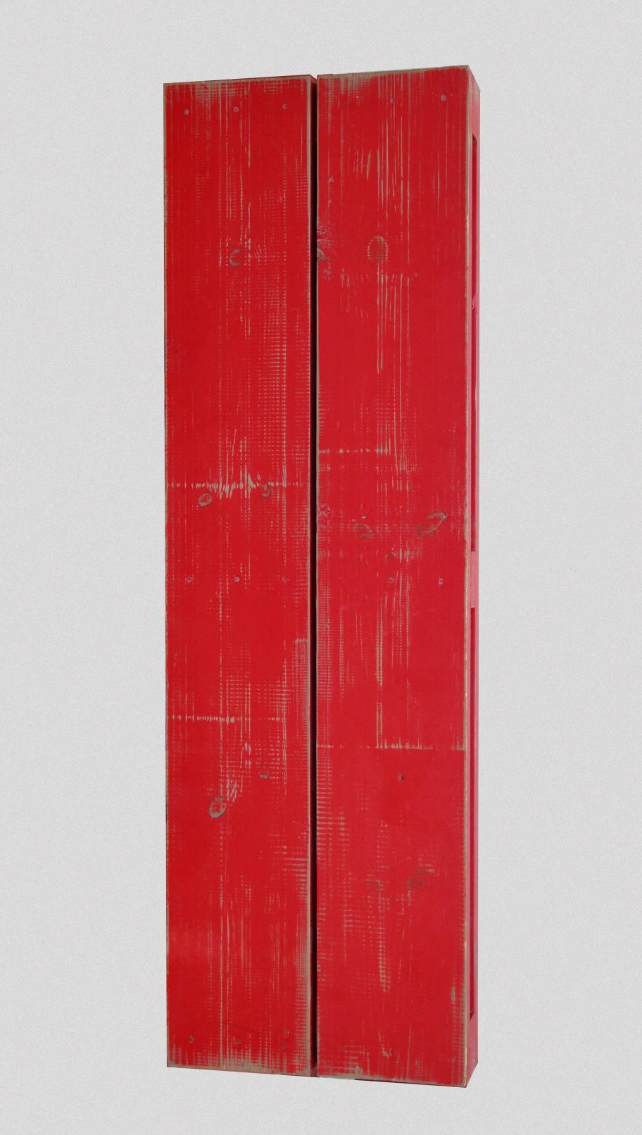 Madera pintada 11. .   120 x 38 x 10 cm. (1983) - Guillermo Lledó