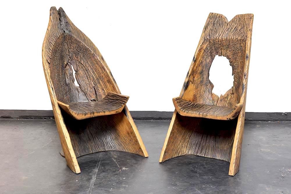 Cadeira Maitá e Cadeira Marimbá (2019) - Hugo França