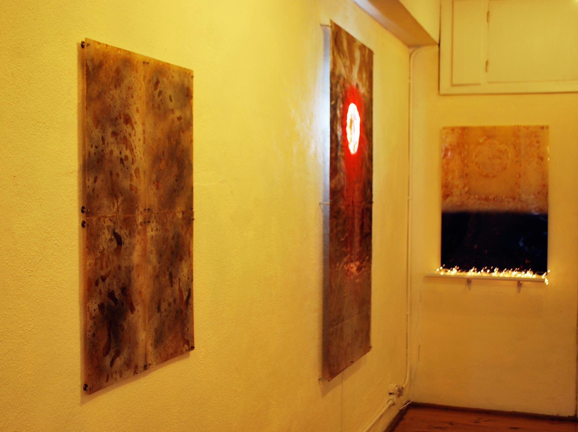 Panorámica de la sala (2020) - Ricardo Alario