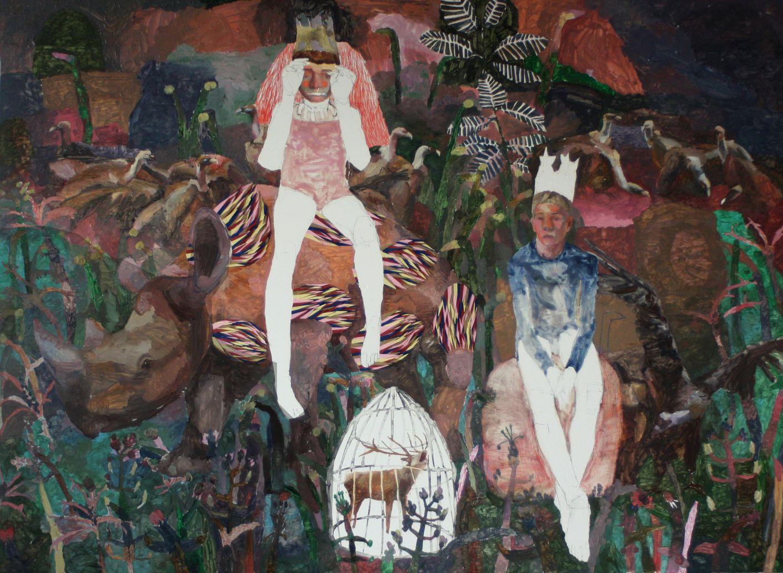 Los hijos del Rey bufon y sus buitres (2018) - Mónica Subidé Soler
