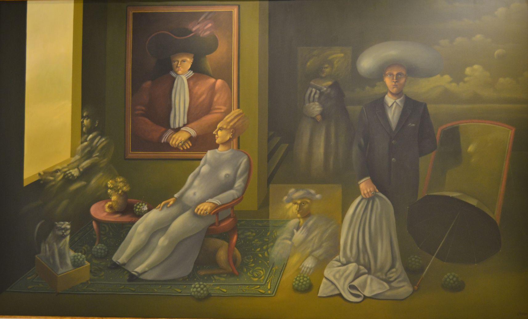 Grupo de familia (1989) - Carmelo Niño