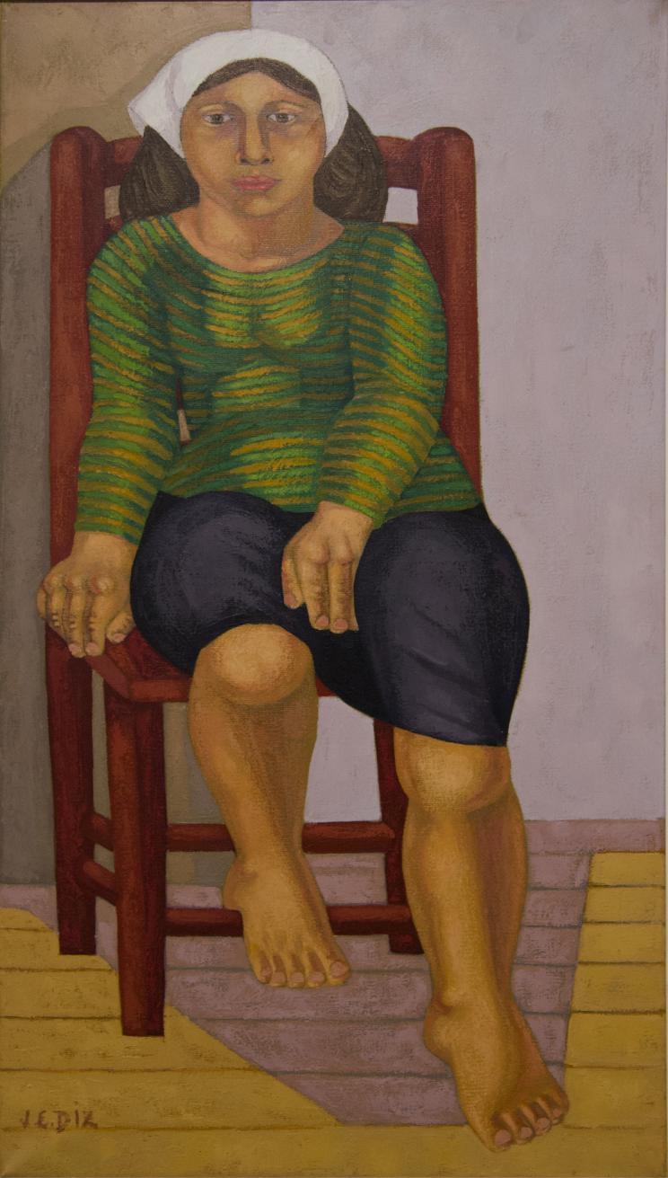 La mujer del pañuelo blanco (1970) - Juana Elena Diz