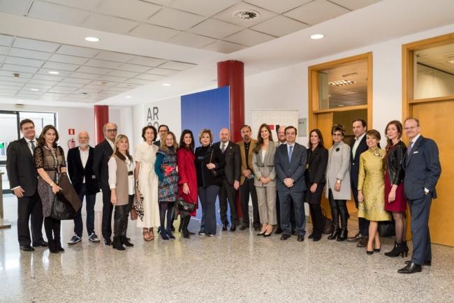 Foto con algunos de los miembros del nuevo Consejo Internacional de la Fundación ARCO, creado en 2018. Cortesía de Fundación ARCO