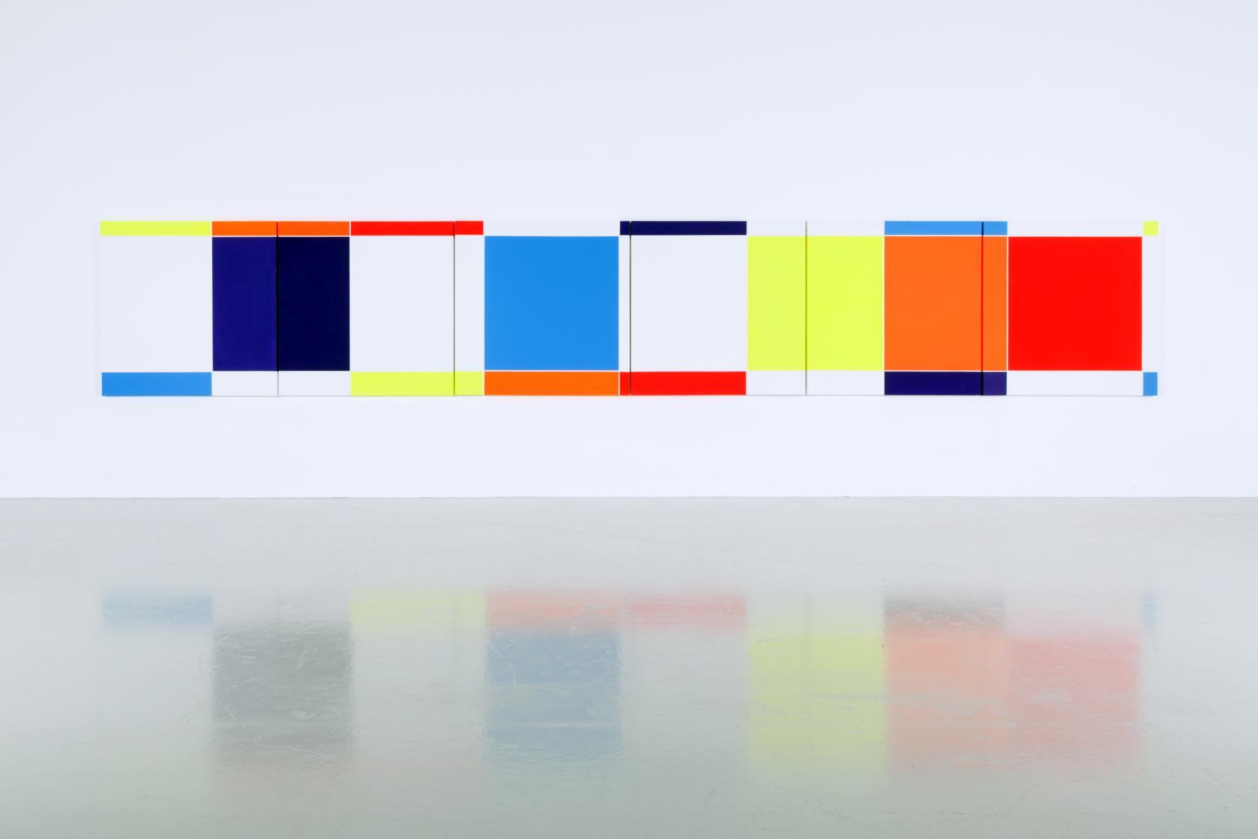 6 Módulos 3 X 9 , 1,2,3,5,6,7. 90º (2001) - Waldo Balart