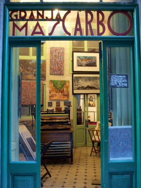 GranjArt Taller Galería Barcelona