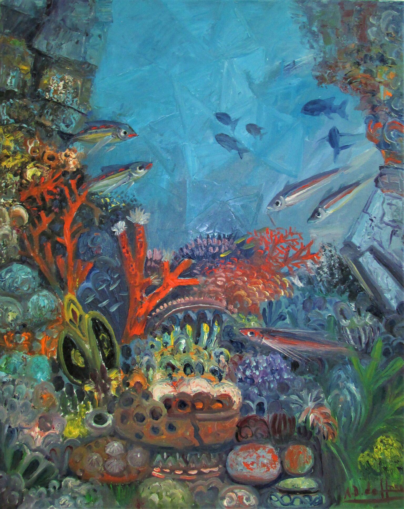 Las doncellas y el rey Coral
