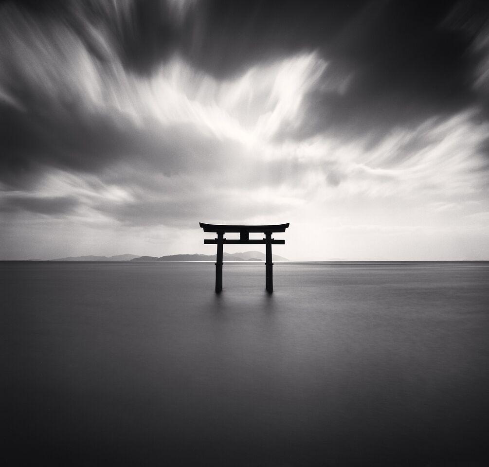 Torii,  Study  2,  Biwa  Lake,  Honshu,  Japan (2007) - Michael Kenna
