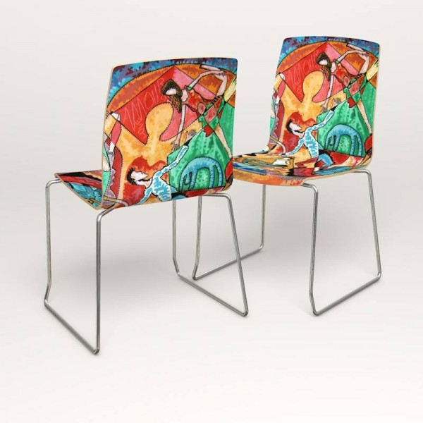 ART CHAIR ARTIST KIM PRISU BY ARSSEDIA DESIGN