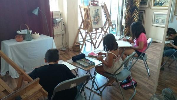 Tallleres de Arte en Galería Arte Clásico con Manuel Domínguez