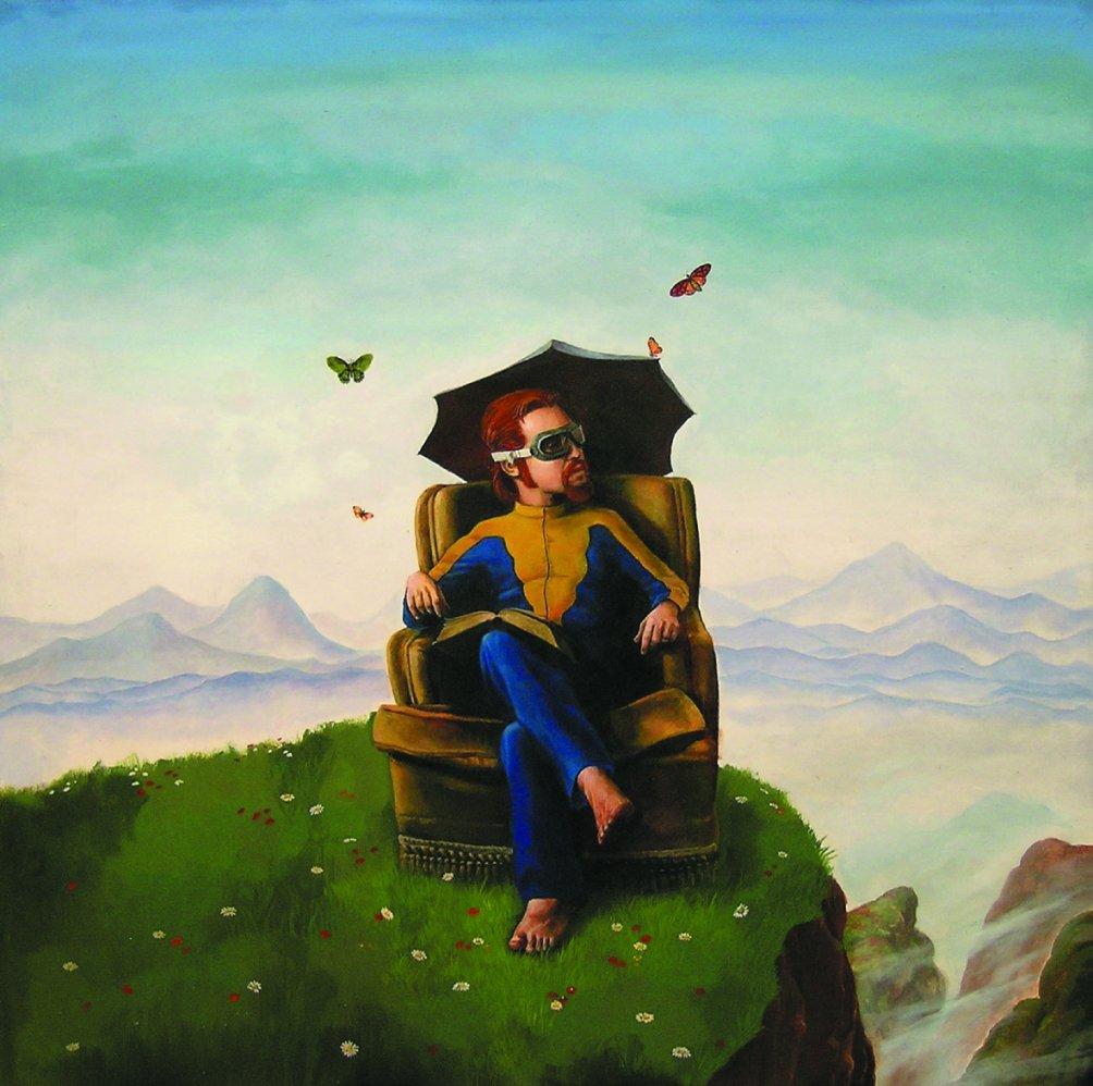 Blinky leyendo en las alturas (2005) - José Luis Serzo - Blinky R. Rodríguez