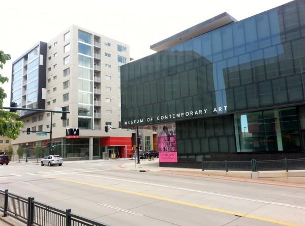 Vista exterior del Museum of Contemporary Art Denver