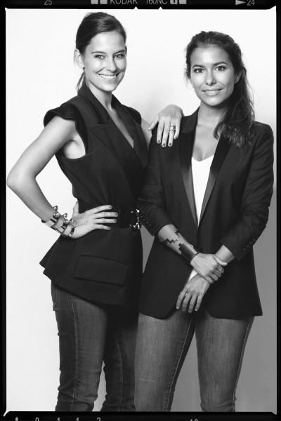 Angie Socías y Alejandra Kreisler