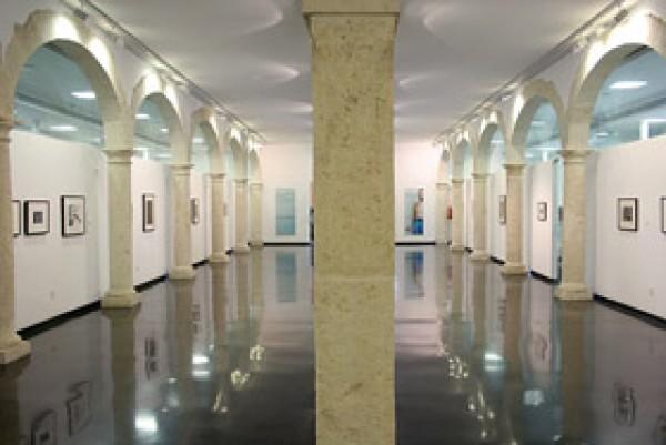 Sala de exposiciones ubicada en la primera planta del edificio.