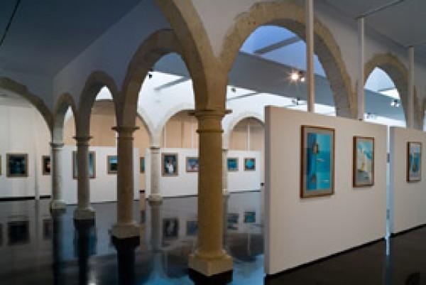 Sala de exposiciones situada en la segunda  planta del Centro Andaluz de Fotografía.