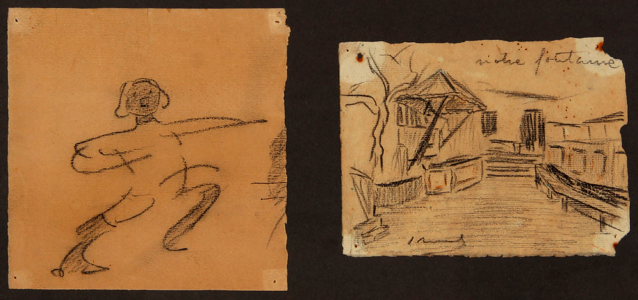 """Figura femenina"" y ""Votre fontanne"" (1965) - Ismael Smith Mari"