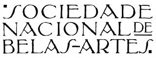Logotipo Sociedade Nacional de Belas Artes