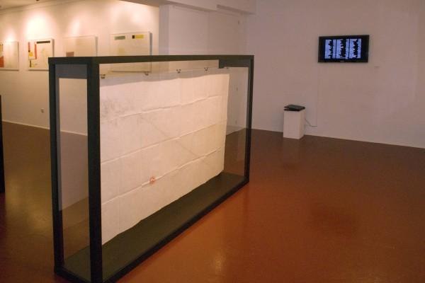 Exposición Nonsite, Luis Gómez
