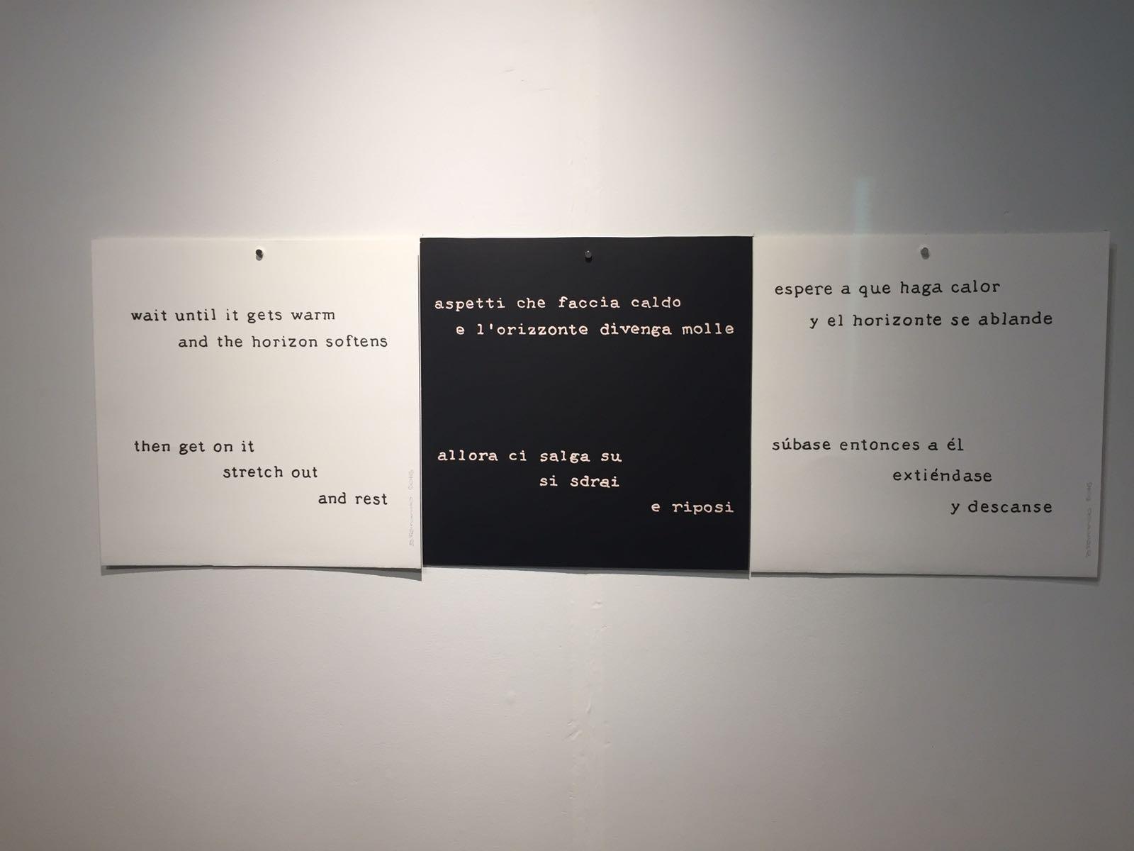Tríptico. Espere a que haga calor (1988) - Bartolomé Ferrando