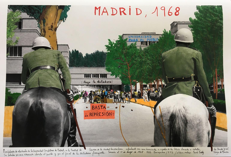 Madrid, Universidad Complutense, 1968. (2018) - Marcelo Brodsky