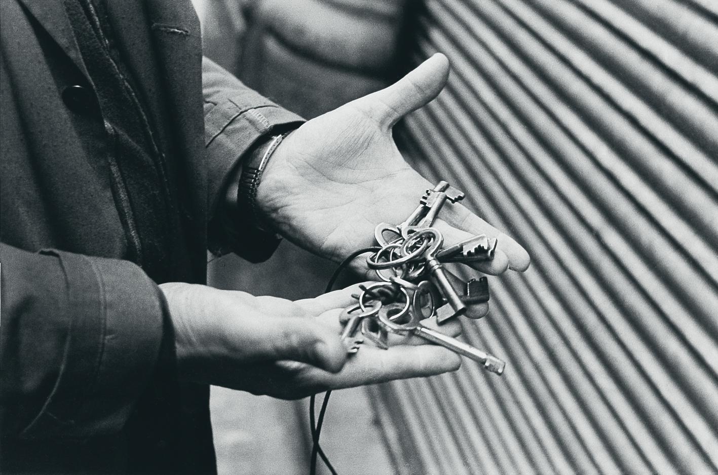 Las llaves.