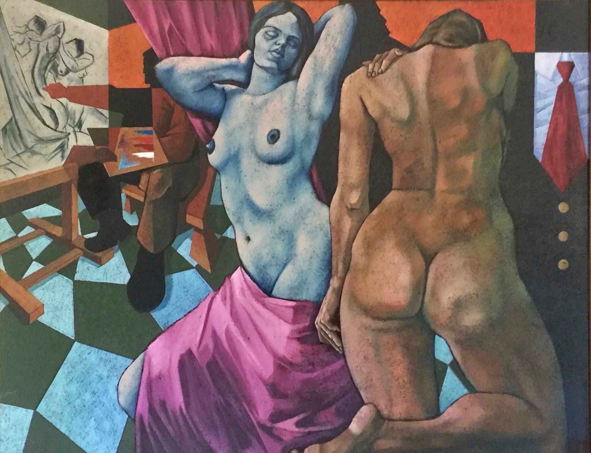 Estudio con Desnudos (2004) - Alfredo Montaña