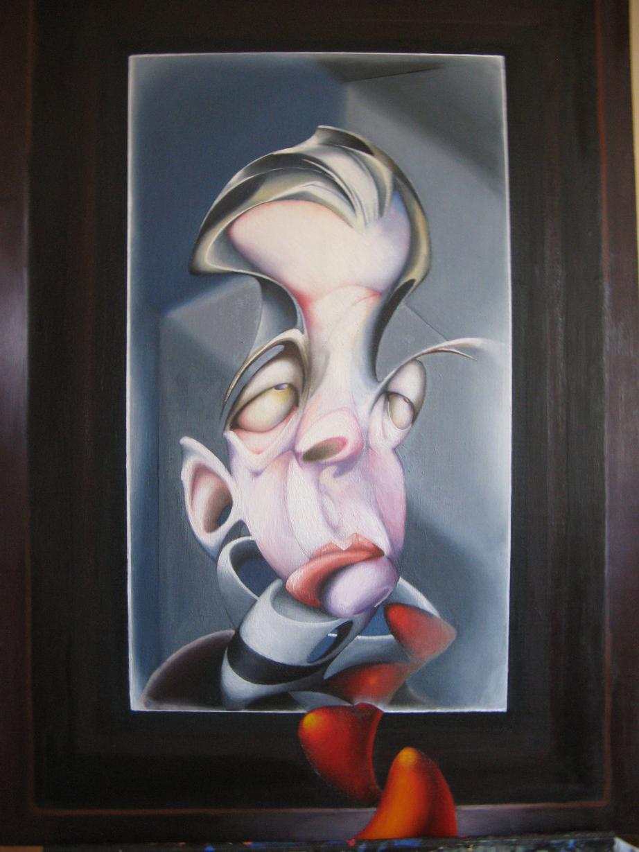 11. El Espejo de Babel. 110 x 86 cm. (2015) - José Carlos Cordoba - JC Cordoba