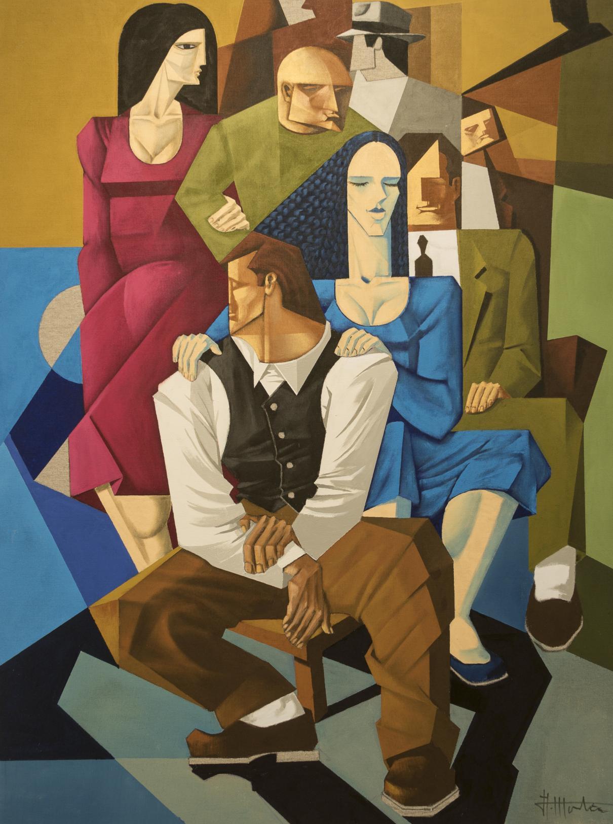 Series Figuras I (2015) - Alfredo Montaña