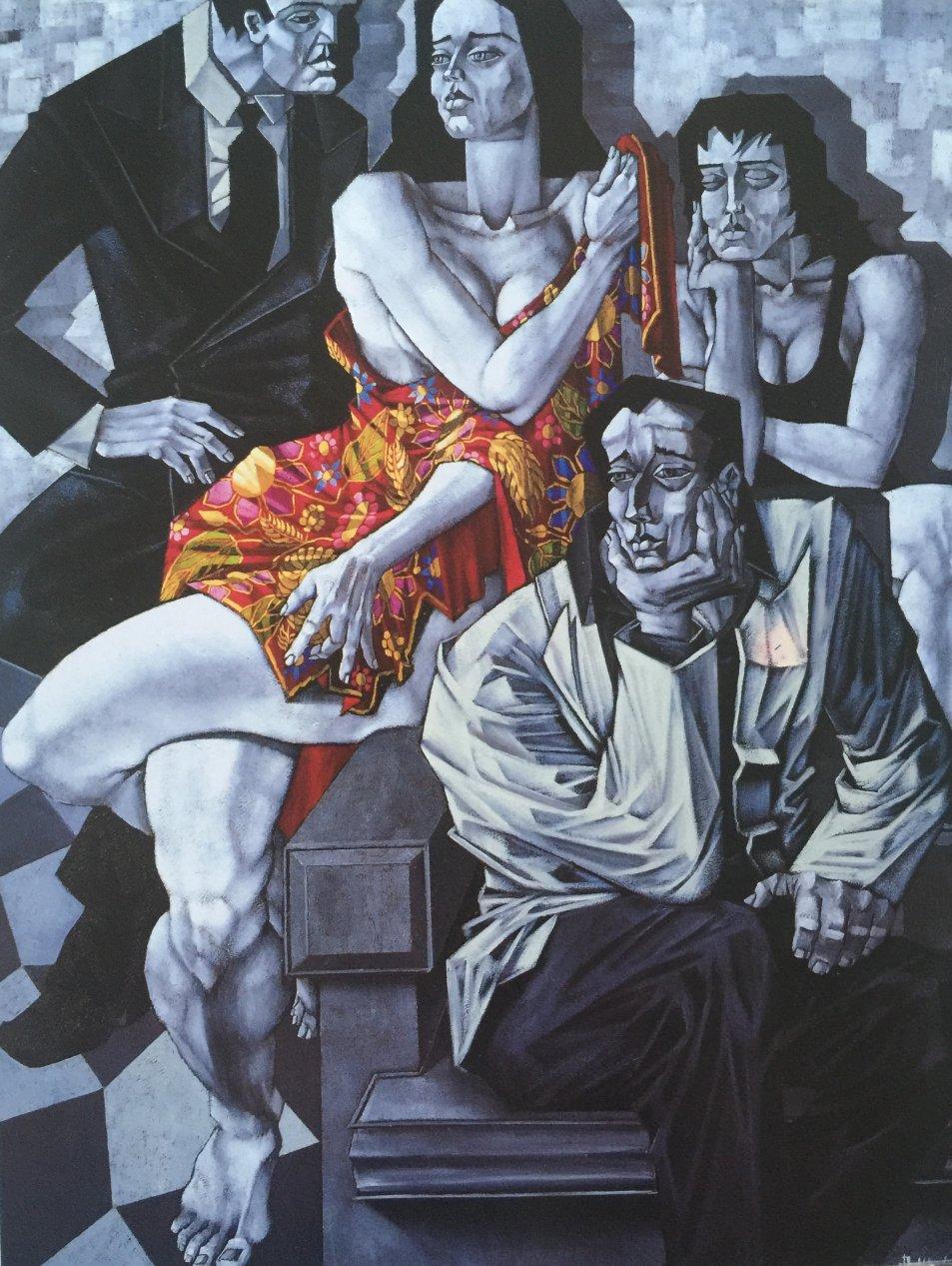 El Mantón Asimetría Cromatica (2010) - Alfredo Montaña