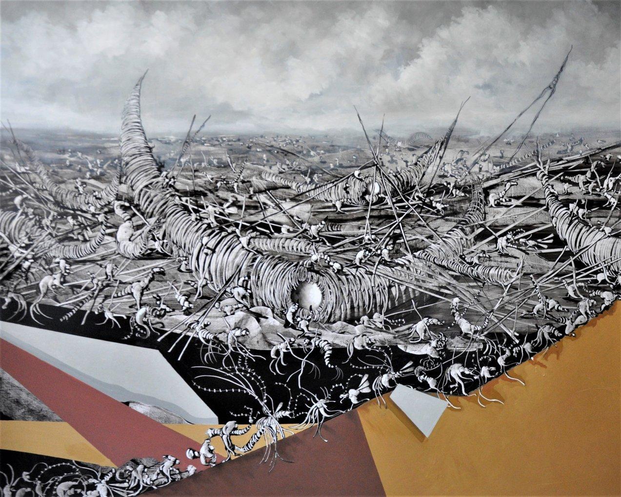 Fragatas en construcción (2018) - José Benítez Montilla