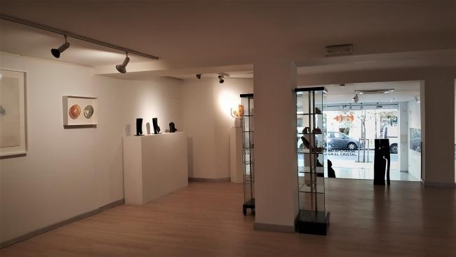 Piso superior de la galería Joaquín Costa