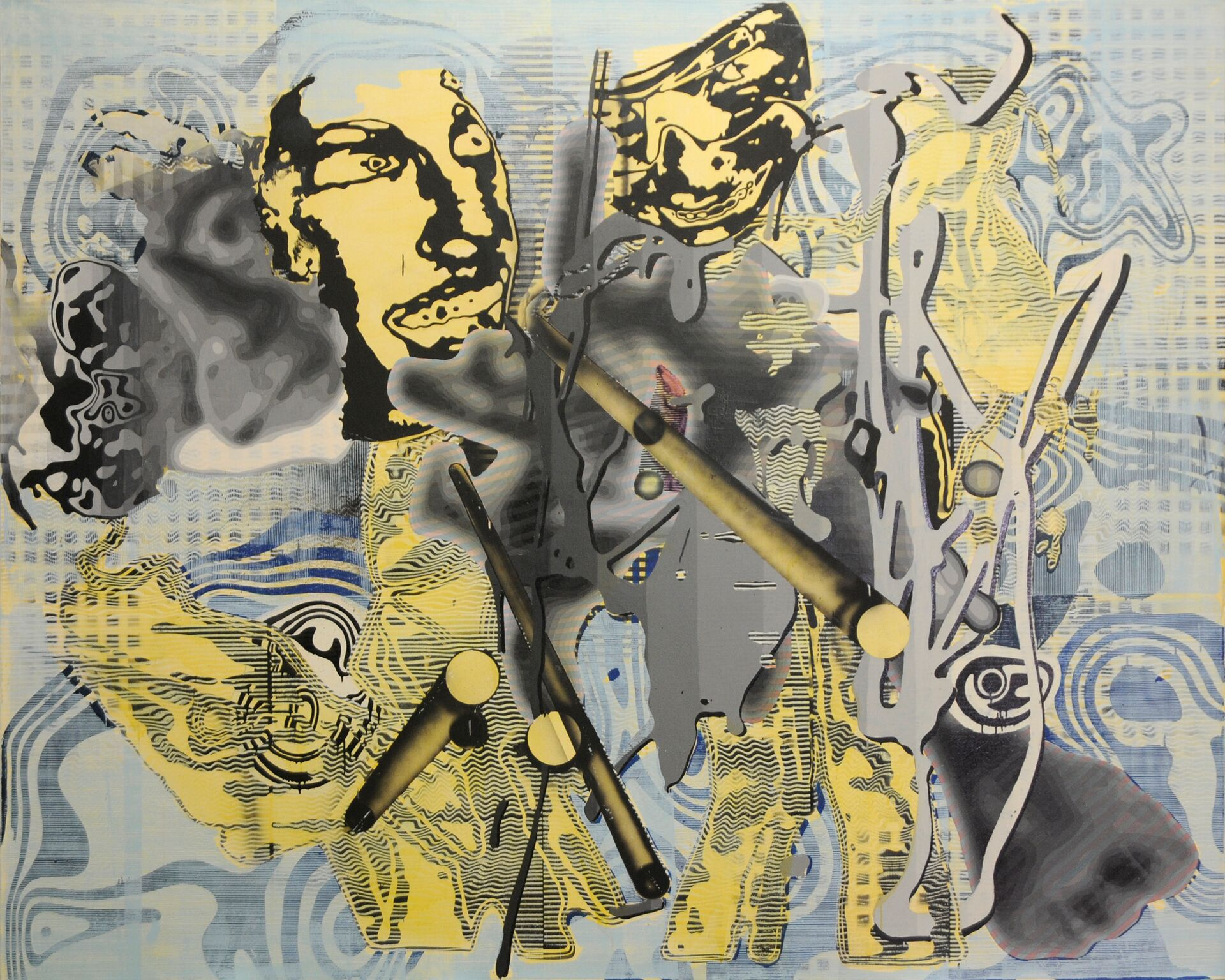 Untitled (2002) - Markus Oehlen